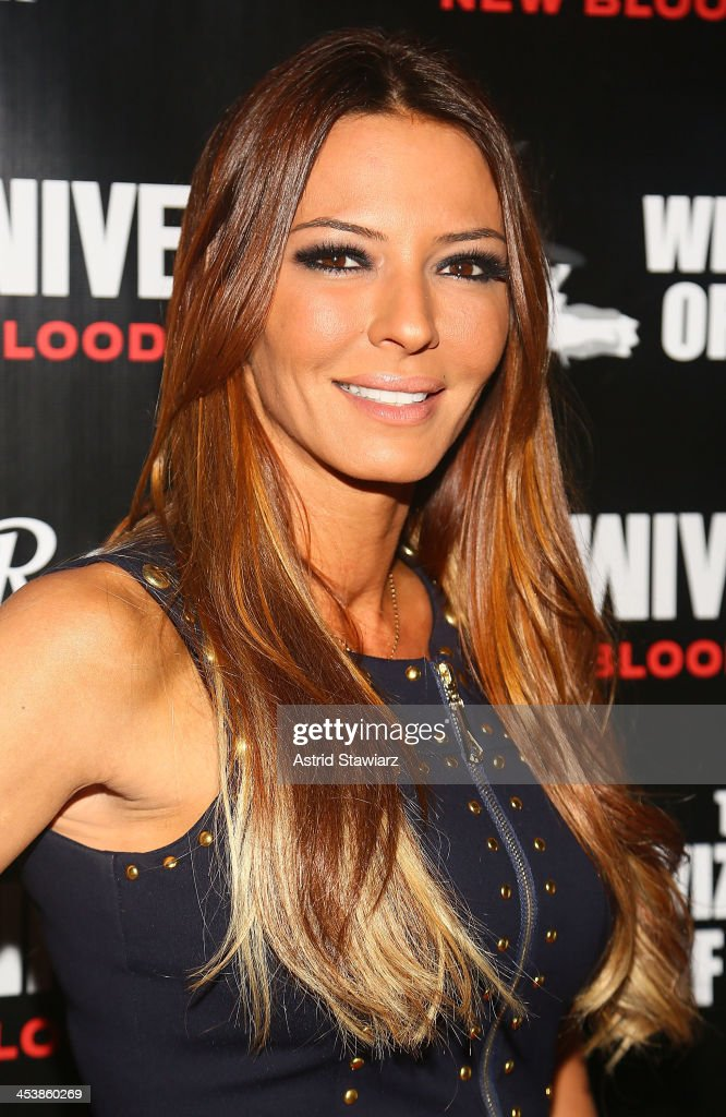 Drita D'Avanzo attends 'Mob Wives' Season 4 premiere at Greenhouse on December 5, 2013 in New York City.