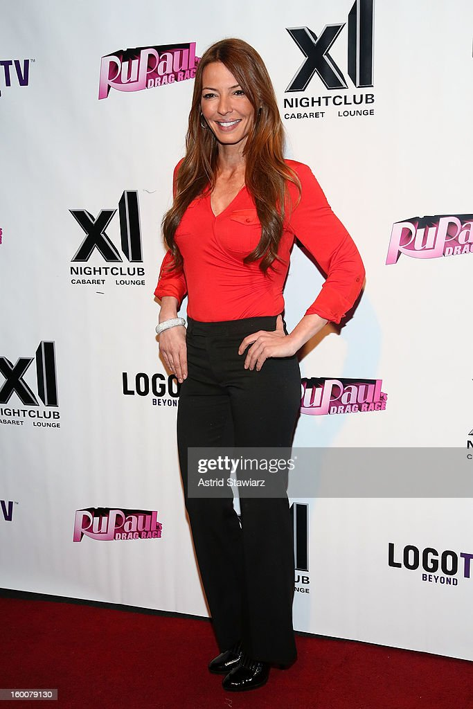 Drita Davanzo attends 'Rupaul's Drag Race' Season 5 Premiere Party at XL Nightclub on January 25, 2013 in New York City.