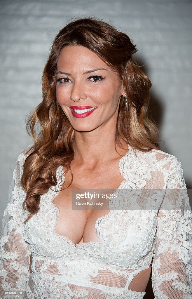 Drita D'Avanzo attends 'The Reality Of Fashion, The Reality Of AIDS' Benefit during Fall 2013 Fashion Week at Altman Building on February 9, 2013 in New York City.
