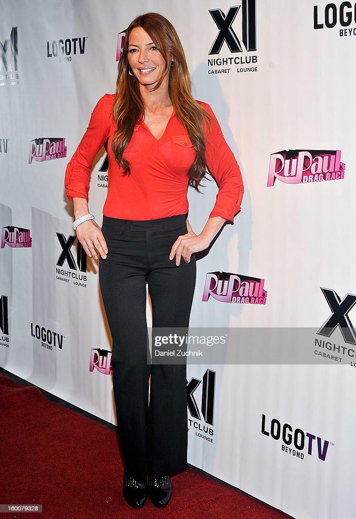 Drita Davanzo attends the 'RuPaul's Drag Race' season 5 party at XL Nightclub on January 25, 2013 in New York City.