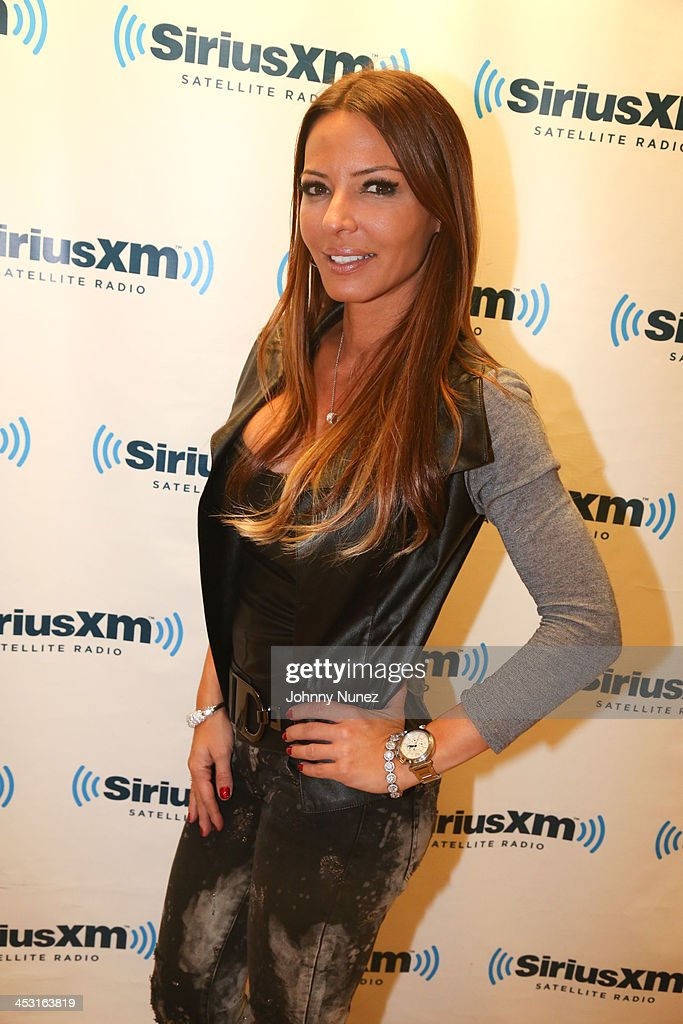 Drita D'Avanzo invades 'The Whoolywood Shuffle' at SiriusXM Studios on December 2, 2013 in New York City.