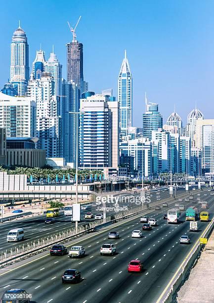 Drive hacia Dubai