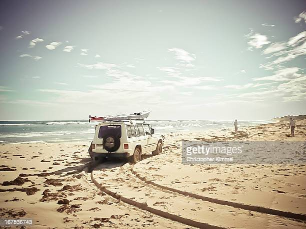 Drive on the beach