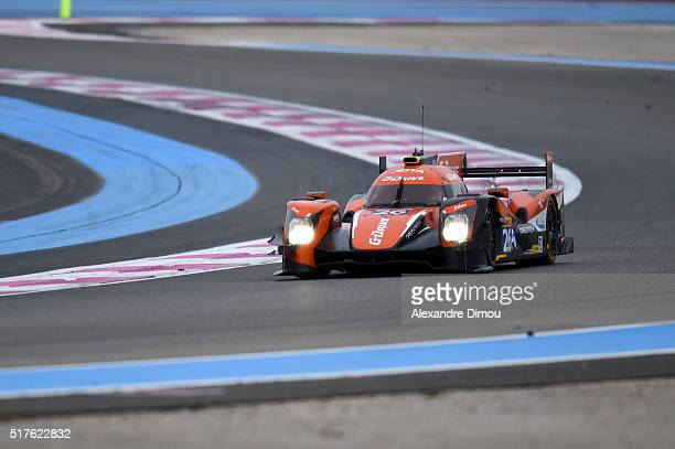 G Drive Racing with Driver Roman Rusnov and Nathanael Berthon and Rene Rast during FIA World Endurance Championship 'Prologue' Official Test Days...