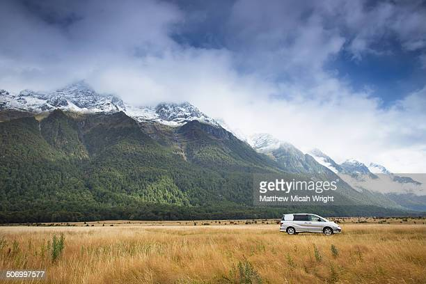A drive through Fiordland National Park