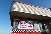 Drive thru architectuure