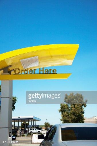 Drive Thru Order Here