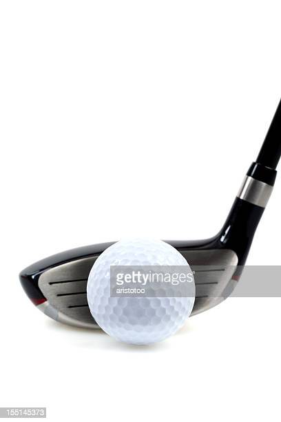 Driver and Golf Ball