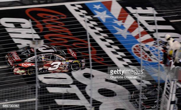 NASCAR driver Austin Dillon wins the CocaCola 600 at Charlotte Motor Speedway on Sunday May 28 2017