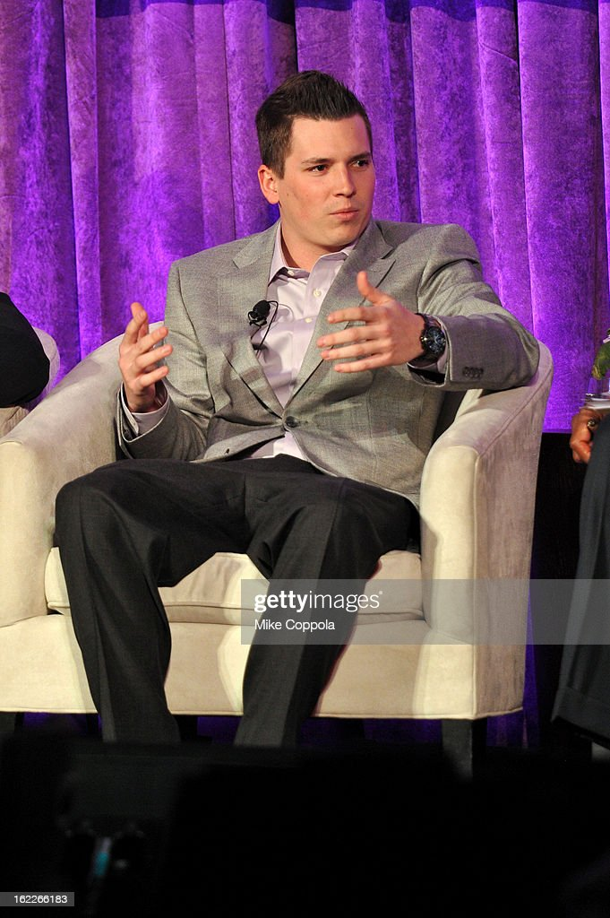 NASCAR driver Brennan Poole attends the A Day To Connect, Inspire And Heal Summit on February 21, 2013 in New York City.