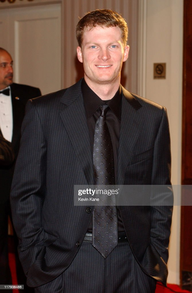 NASCAR driver, Dale Earnhardt Jr. during The 2003 NASCAR Winston Cup Series Awards Ceremony Celebrity Arrivals at Waldorf Astoria in New York City, New York, United States.