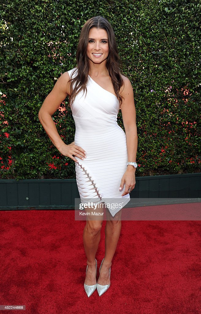 NASCAR driver <a gi-track='captionPersonalityLinkClicked' href=/galleries/search?phrase=Danica+Patrick&family=editorial&specificpeople=183352 ng-click='$event.stopPropagation()'>Danica Patrick</a> attends The 2014 ESPYS at Nokia Theatre L.A. Live on July 16, 2014 in Los Angeles, California.