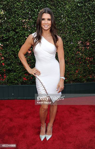 NASCAR driver Danica Patrick attends The 2014 ESPYS at Nokia Theatre LA Live on July 16 2014 in Los Angeles California