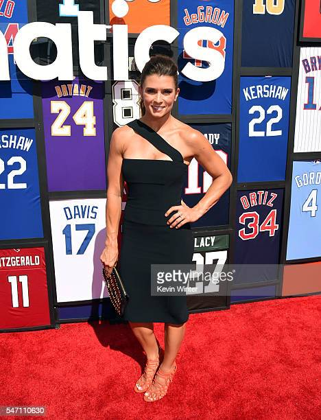 NASCAR driver Danica Patrick attends the 2016 ESPYS at Microsoft Theater on July 13 2016 in Los Angeles California