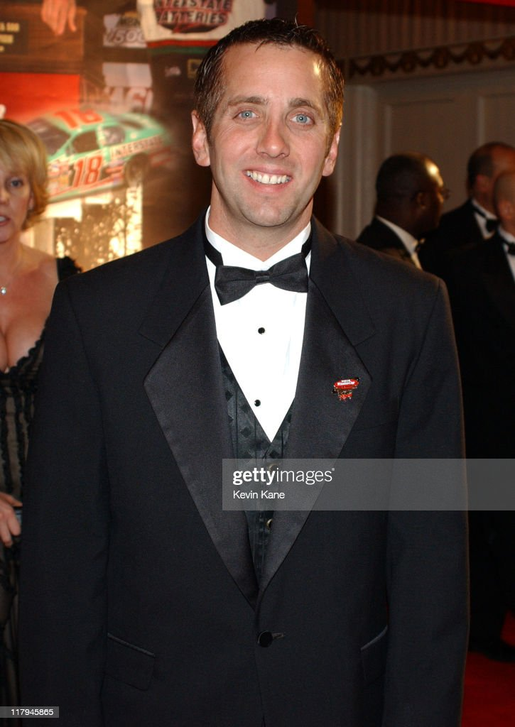 NASCAR driver, <a gi-track='captionPersonalityLinkClicked' href=/galleries/search?phrase=Greg+Biffle&family=editorial&specificpeople=209093 ng-click='$event.stopPropagation()'>Greg Biffle</a> during The 2003 NASCAR Winston Cup Series Awards Ceremony Celebrity Arrivals at Waldorf Astoria in New York City, New York, United States.