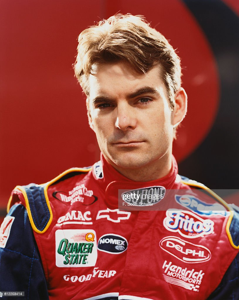 NASCAR driver Jeff Gordon is photographed for ESPN - The Magazine in 2002.