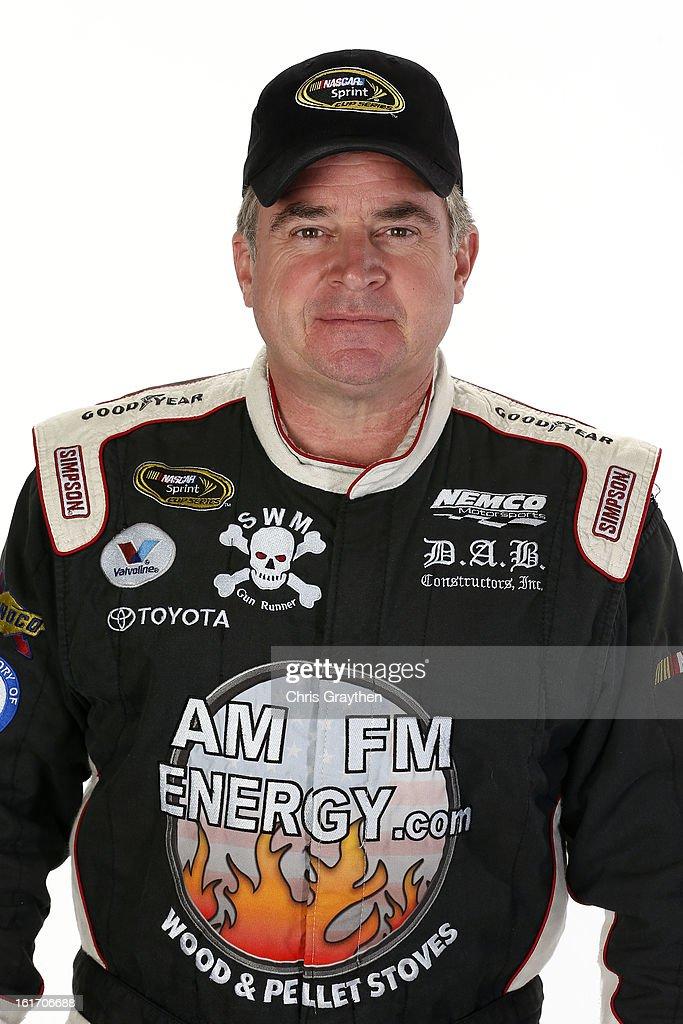 Driver Joe Nemechek poses during portraits for the 2013 NASCAR Sprint Cup Series at Daytona International Speedway on February 14, 2013 in Daytona Beach, Florida.