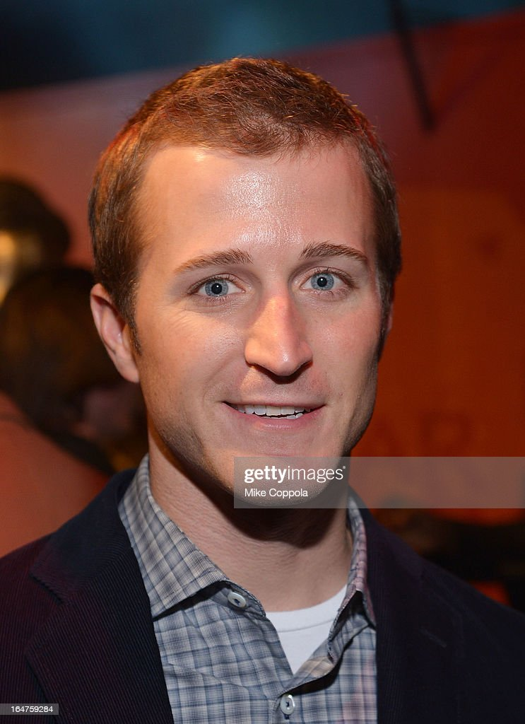 NASCAR driver <a gi-track='captionPersonalityLinkClicked' href=/galleries/search?phrase=Kasey+Kahne&family=editorial&specificpeople=183374 ng-click='$event.stopPropagation()'>Kasey Kahne</a> attends 'Game Of Thrones' The Exhibition New York Opening at 3 West 57th Avenue on March 27, 2013 in New York City.