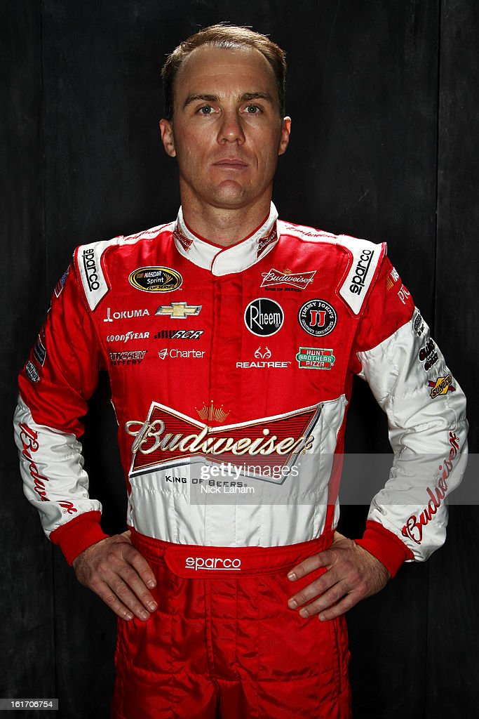 Driver Kevin Harvick poses during portraits for the 2013 NASCAR Sprint Cup Series at Daytona International Speedway on February 14, 2013 in Daytona Beach, Florida.