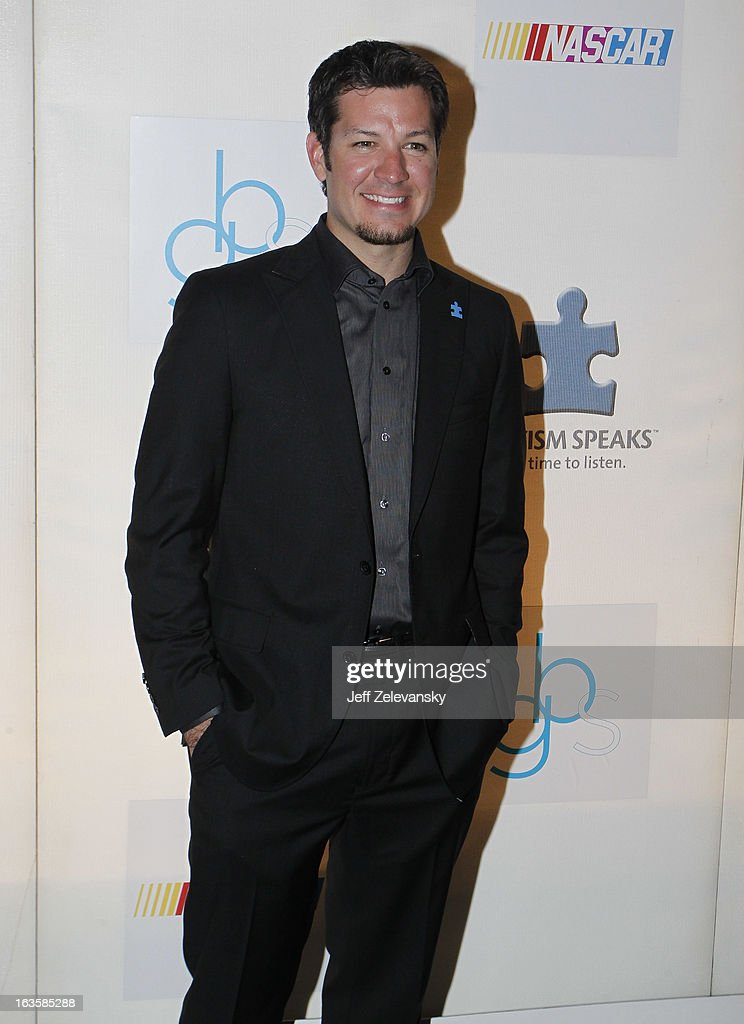 NASCAR driver Martin Truex, Jr. arrives at 'Speeding For A Cure', a gala to benefit Autism Speaks held at the Metropolitan Museum of Art on March 12, 2013 in New York City.