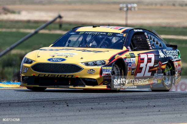 Driver Matt DiBenedetto 32 during the Monster Energy NASCAR Cup Toyota/Save Mart 350 race held at Sonoma Raceway CA on June 2325 2017 Kevin Harvick...