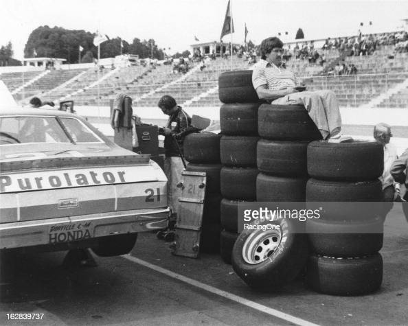 Neil Bonnett Stock Photos and Pictures | Getty Images Race Tire Stack