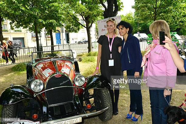 A driver Rachida Dati and Rallye des Princesses organizer Viviane Zaniroli attend the Rallye Des Princesses 2013 14th Edition' Press Presentation at...