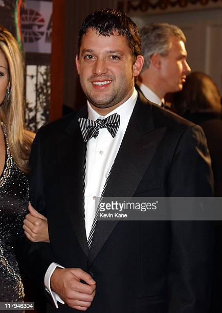 NASCAR driver Tony Stewart during The 2003 NASCAR Winston Cup Series Awards Ceremony Celebrity Arrivals at Waldorf Astoria in New York City New York...