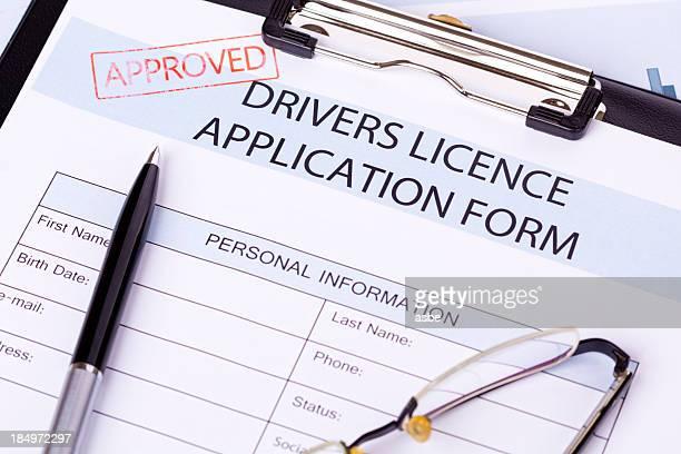 Drivers Licence modulo di richiesta