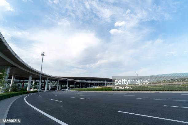Driveway leading to Terminal 3 of Beijing Capital International Airport According to China CAAC China will build three worldclass airport clusters in...