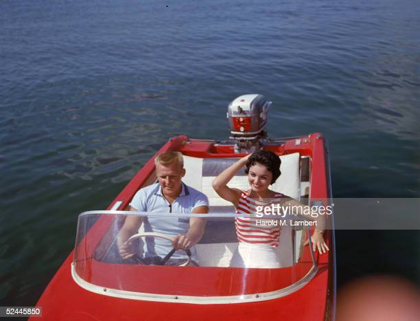 Driving A Motorboat