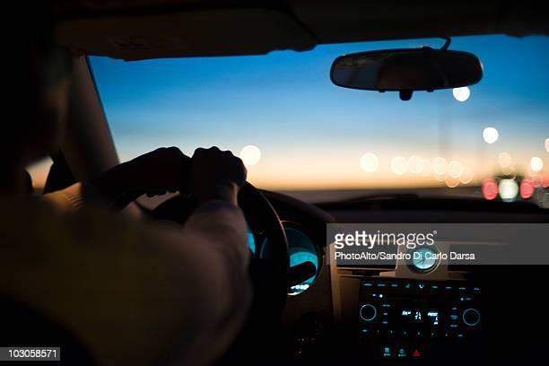 Driving at twilight