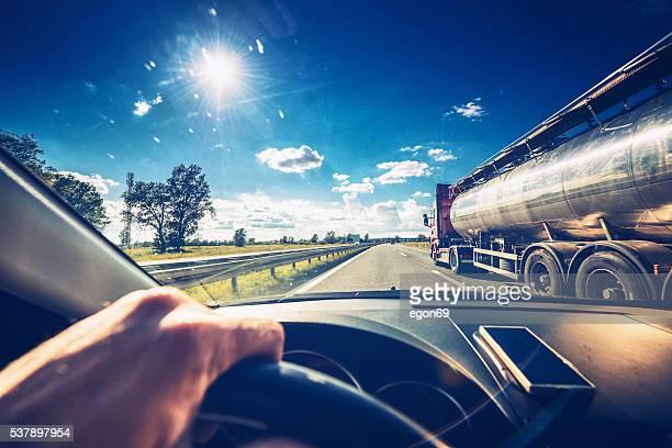Driving car