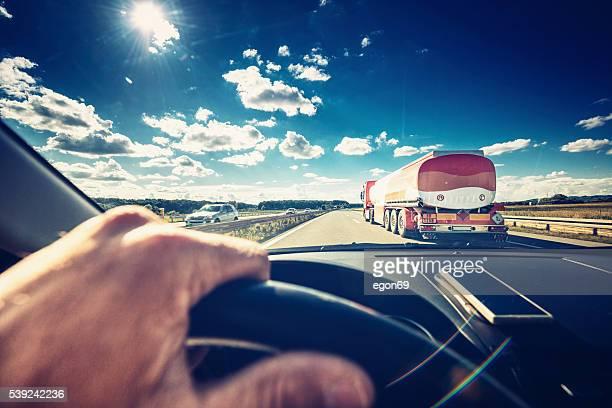 Conduite de voiture