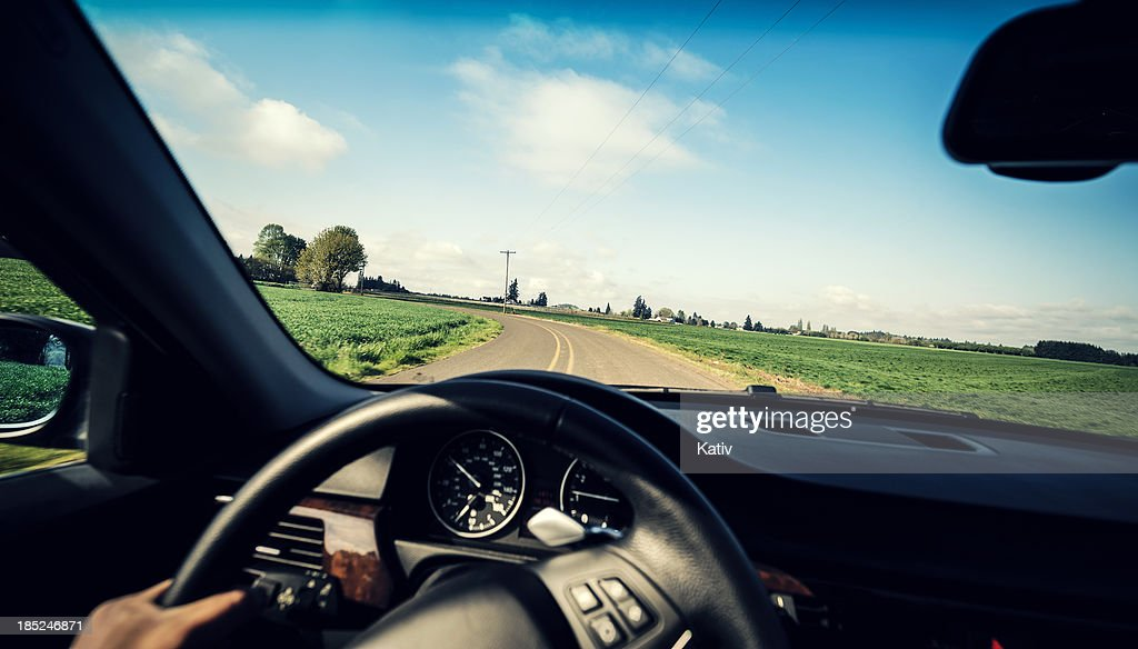 Driving countryside