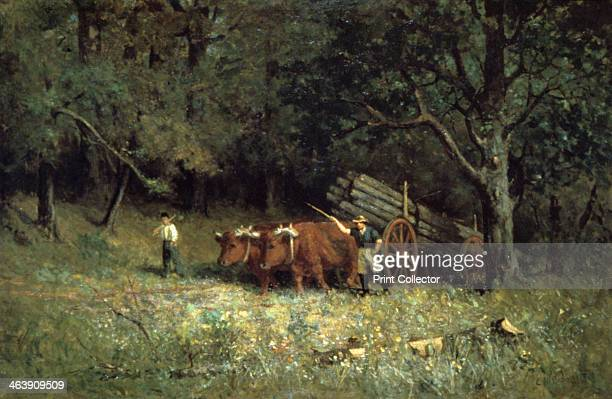 'Driving Home the Cows' 1881 From the National Museum of American Art USA