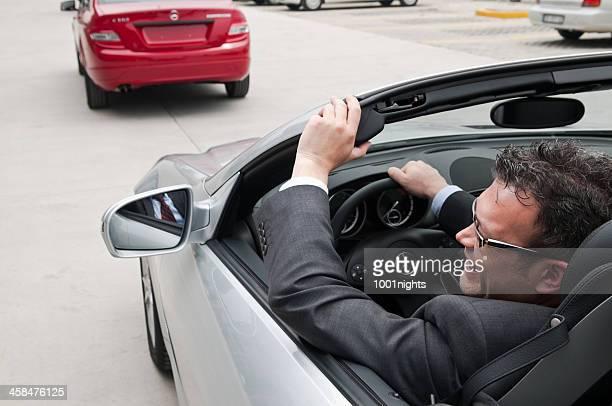 Driving Mercedes