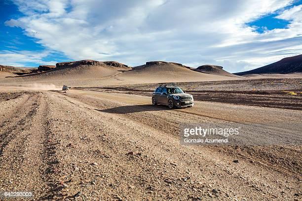 Driving off road close to Antofagasta