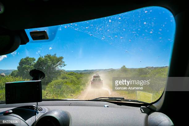 Driving off road in Cordoba Argentina