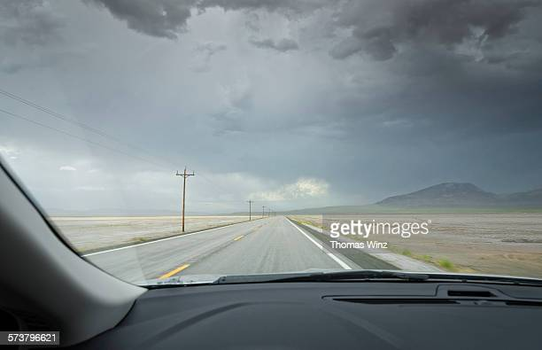 Driving on Highway 50