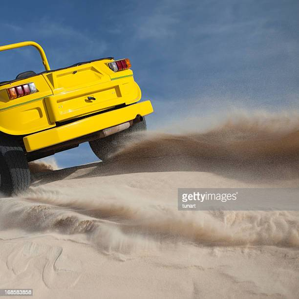 Driving on Sand, Jericoacoara, Brazil