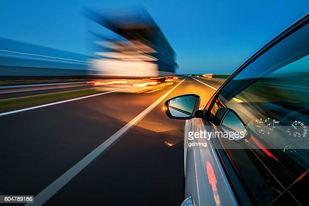 Driving on the motorway