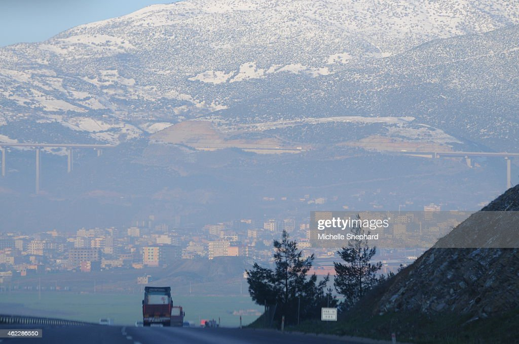 Driving toward Turkey's border with Syria Thousands of foreign fighters have crossed through Turkey to join Syria's war in what has been dubbed the...
