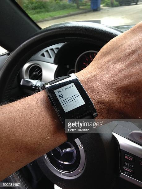 Driving with Pebble Smartwatch and Maps App