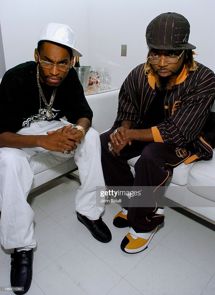 DRoc and Kaine of the Ying Yang Twins during Oakley Thump 2 Launch Party October 12 2005 at Montmartre Lounge in Hollywood California United States