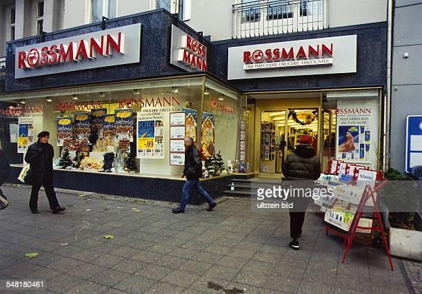 Drogerie 'Rossmann' am Kurfürstendamm 1999