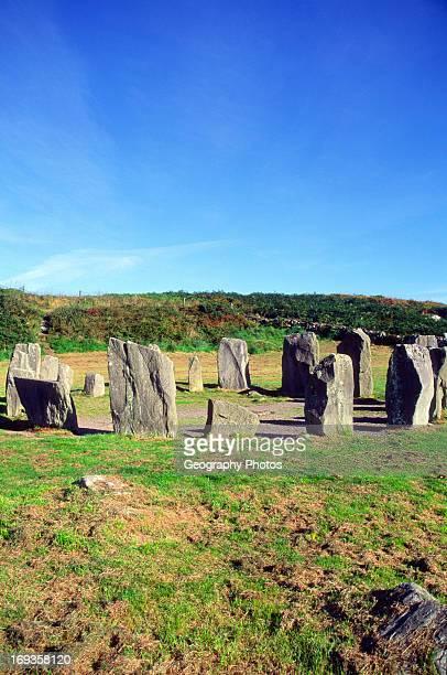 Drombeg prehistoric stone circle henge County Cork Ireland
