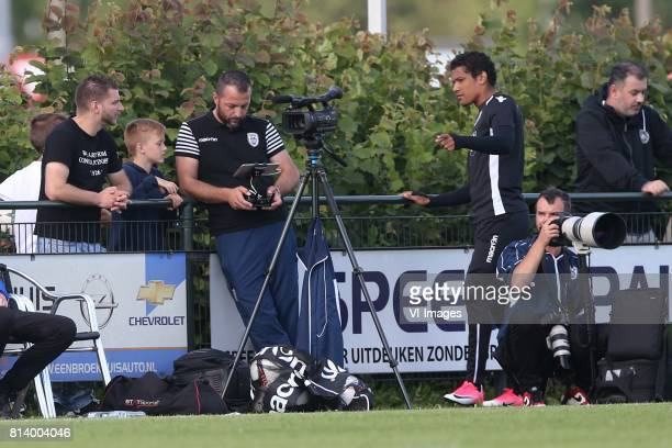 Drone driver during the friendly match between VVVVenlo and PAOK Saloniki at Sportpark de Schuytgraaf on july 12 2017 in Arnhem The Netherlands