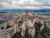 The Spis Castle - Spissky hrad National Cultural Monument (UNESCO) - Spis Castle - One of the largest castle in Central Europe (Slovakia).