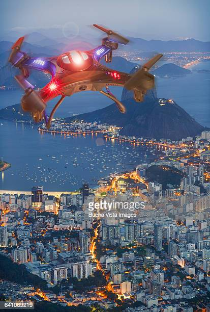 Drone over Rio De Janeiro